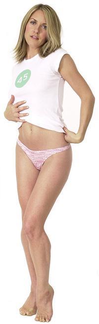 Liz Phair in lingerie