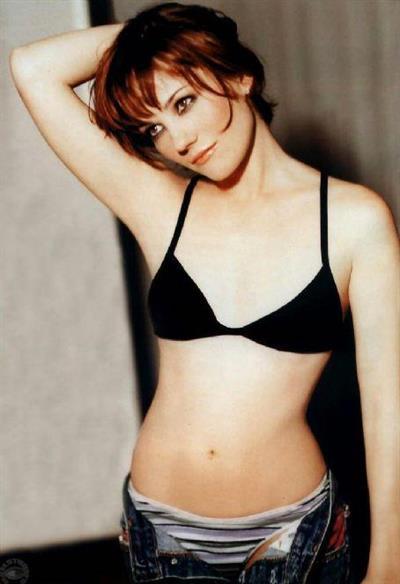 Natasha Gregson Wagner in lingerie