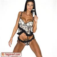 hegre-art.com - Helena Karel lingerie