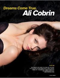 Ali Cobrin in lingerie