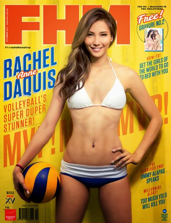 Rachel Anne Daquis in a bikini