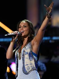Alicia Keys Latin Grammy Awards in Las Vegas