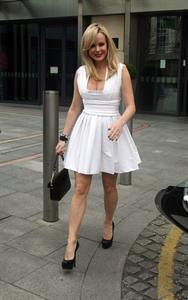 Amanda Holden in Birmingham on April 4, 2011