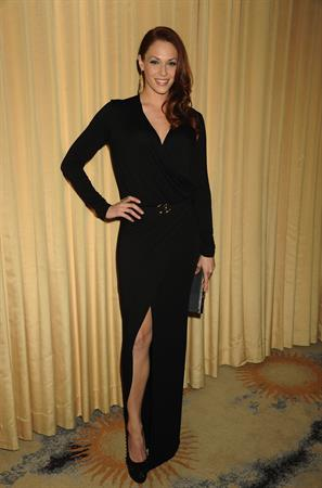 Amanda Righetti Forevermark and Instyle Golden Globes Event on January 10, 2012