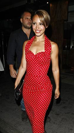 Amelle Berrabah F1 GP party 2010