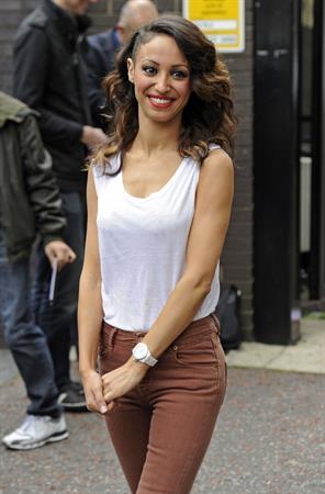 Amelle Berrabah Jade Ewan ITV Studios September 27, 2011