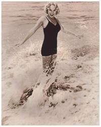 Audrey Totter in a bikini