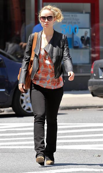 Olivia Wilde out in the West Village on May 19, 2012