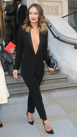 Olivia Wilde (24) Leaving her hotel in London - September 2 2013