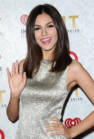 Victoria Justice attends the IHeartRadio Release Party With Justin Timberlake in Los Angeles - March 18, 2013