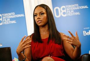 Alicia Keys Secret Life of Bees press conference during the 2008 Toronto International Film Festival in Toronto, Canada