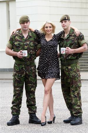 Ali Bastian Brew Up photocall on Sept 20, 2010