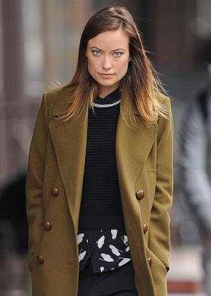Olivia Wilde in New York 10/11/13