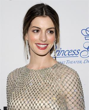 Anne Hathaway Princess Grace Awards Gala in New York City on November 1, 2011