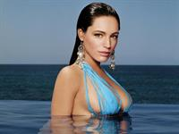 Kelly Brook in a bikini - breasts