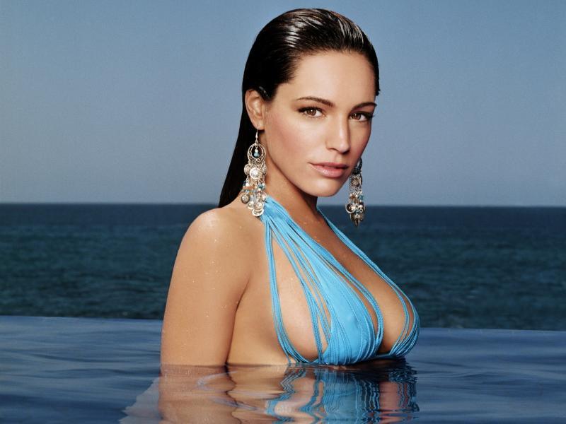 Molly Sims in a bikini - breasts
