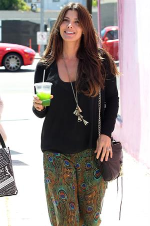 Ali Landry out in West Hollywood on July 6, 2012