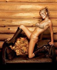 Nicole Hiltz in a bikini