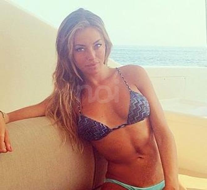 Alessia Tedeschi in a bikini