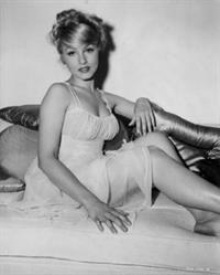 Julie Newmar in lingerie