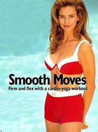 Jill Goodacre in a bikini