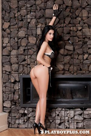 Playboy Cybergirl - Laura Cattay Nude Photos & Videos at Playboy Plus!