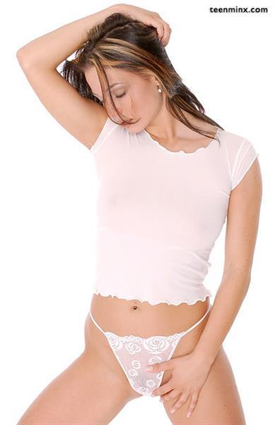 Andrea Hercogova in lingerie