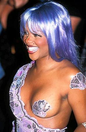Lil' Kim at the 1999 MTV VMA Awards