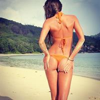 Galinka Mirgaeva in a bikini - ass