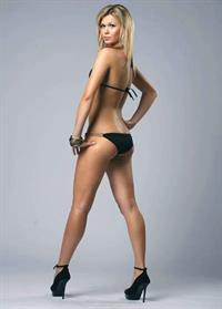 Anna Prugova in a bikini - ass