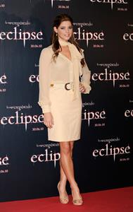 Ashley Greene photocall for the Twilight Saga Eclipse on June 28, 2010 in Madrid, Spain