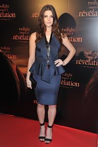 Ashley Greene Twilight Chapter 4 Revelation Premiere in Paris, France on October 23, 2011