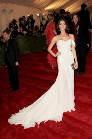 Ashley Greene attends the Metropolitan Museum of Arts Costume Institute Gala on May 7, 2012
