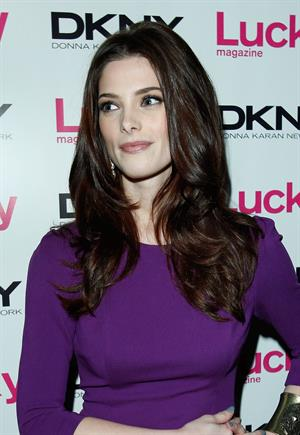 Ashley Greene Lucky Magazine Cover Event in West Hollywood on February 2, 2012
