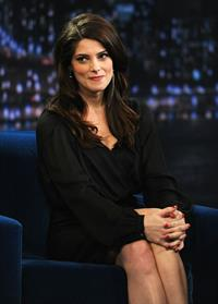 Ashley Greene Late Night with Jimmy Fallon in NY on November 15, 2011