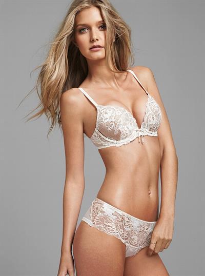 Mathilde Frachon in lingerie