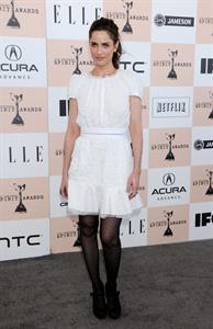 Amanda Peet Film Independent Spirit awards at Santa Monica Beach on February 26, 2011