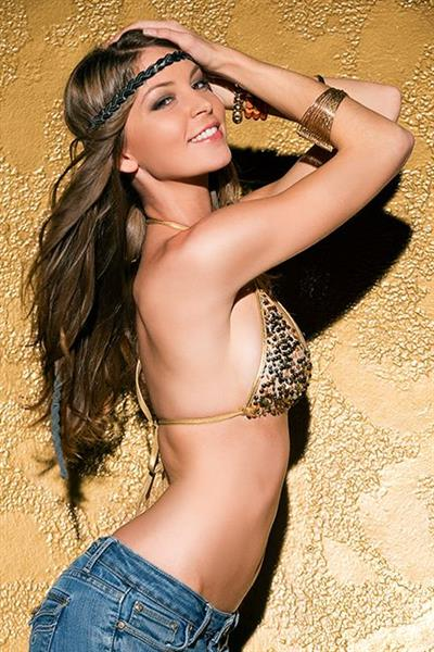 Amber Sym in a bikini