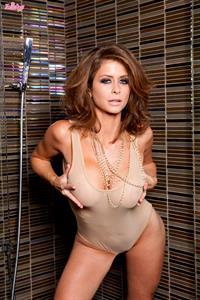 Emily Addison in a bikini