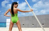 Isabel Canete in a bikini