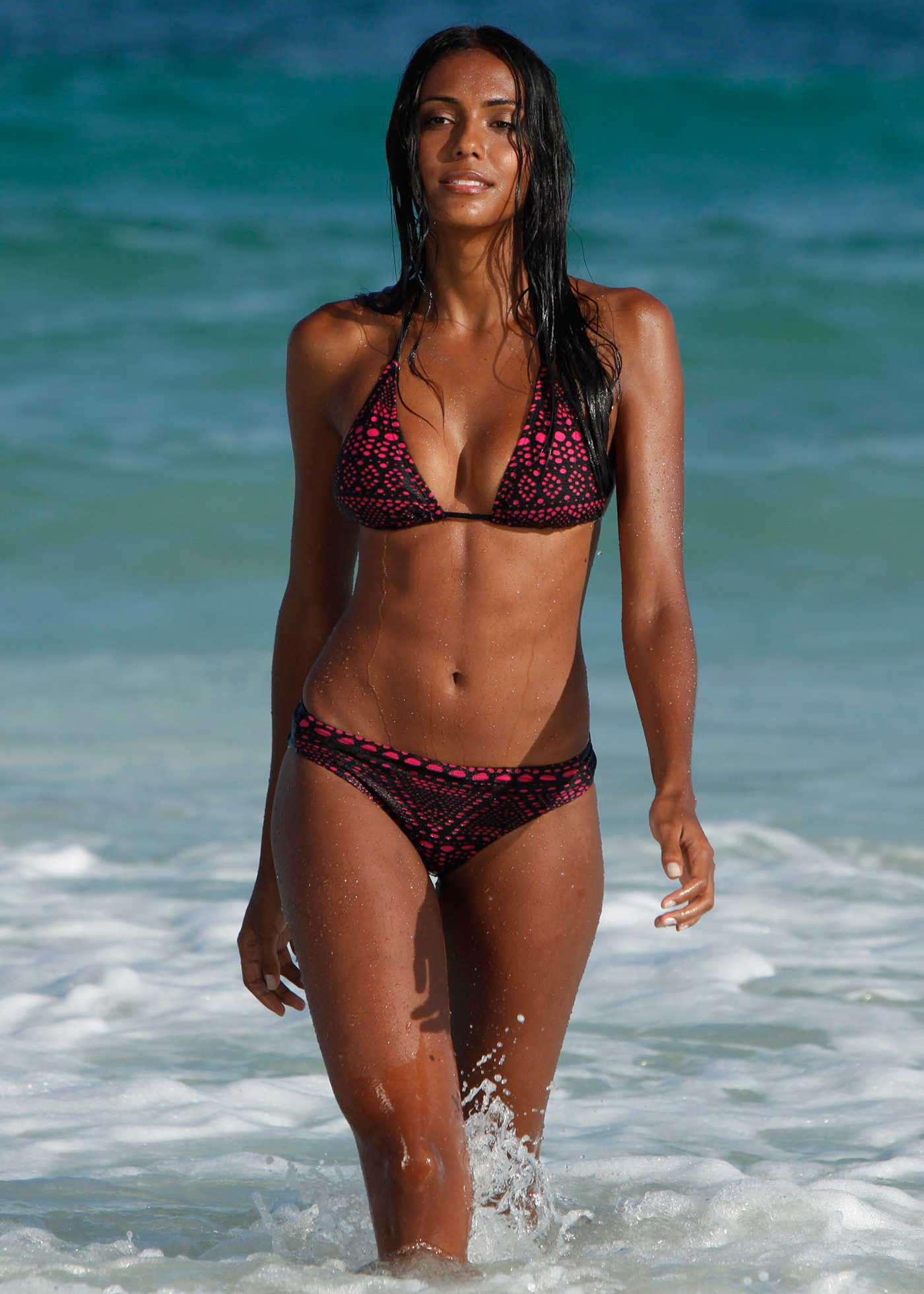 Fernanda Marques in a bikini