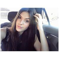 Julia Friedman taking a selfie