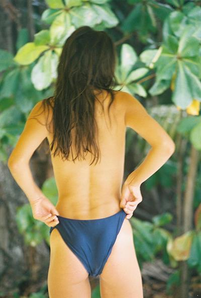 Gia Radionova in a bikini - ass