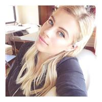 Camille Neviere taking a selfie