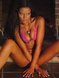 Alexandra Lascar in a bikini