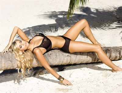 Petra Cubonova in a bikini