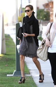 Jessica Alba in Los Angeles on January 28