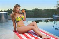 Lauren Hanley in a bikini