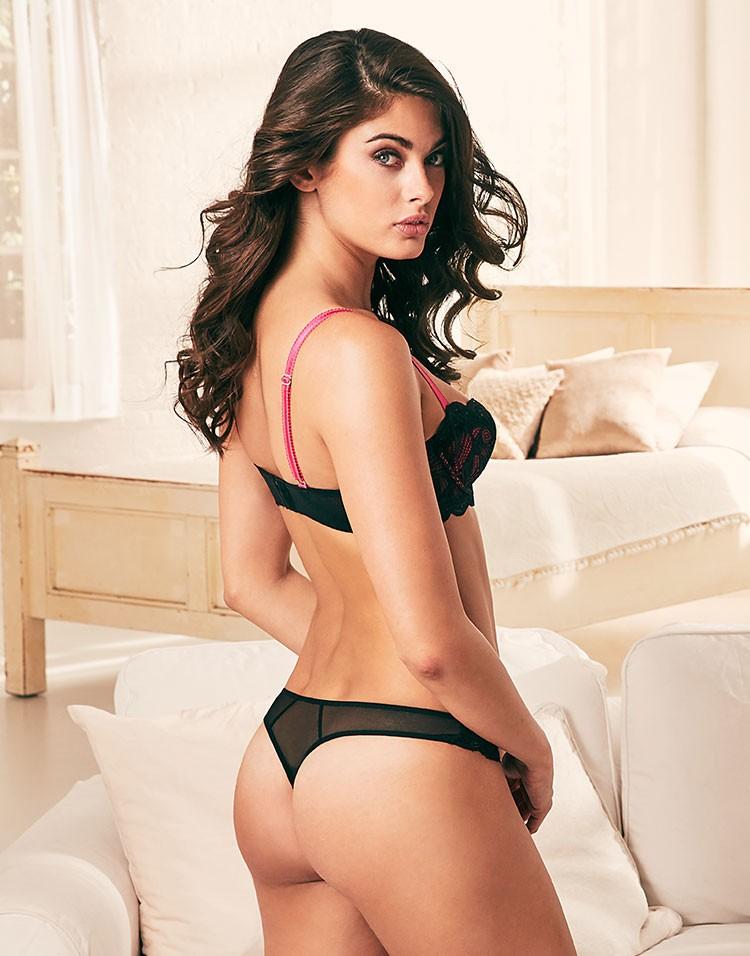 Denise Deluca in lingerie - ass