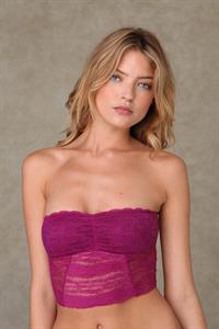 Martha Hunt in lingerie